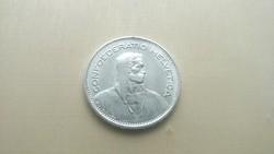 Svájci ezüst 5 frank 1965. Verdefényes.