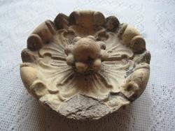 Zsolnay antik   pirogranit  rozetta  14 cm