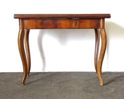 0X555 Régi neobarokk nyitható asztal
