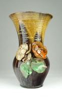 0X487 Hajdúszoboszlói kerámia váza 1947 18 cm