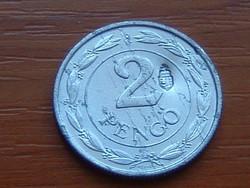 MAGYAR KIRÁLYSÁG 2 PENGŐ 1942 BP ALU. ELLENJEGGYEL KORONÁS CÍMER