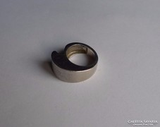 FORMATERVEZETT ezüst gyűrű
