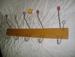 Régi falifogas - hajlított fém, fa