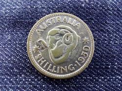 Ausztrália VI. György (1936-1952) .500 ezüst 1 Schilling 1950 (9503)