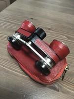 Régi RATHENOW Theastar S mini távcső bőr tokban