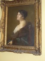 Női portré-Ingomar