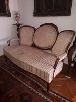 Bécsi barokk kanapé.