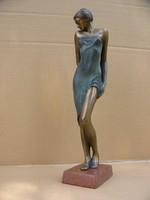 Czobor Sándor Anna c. bronz kisplasztika alkotása