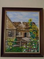 EREDETI Erdei Sándor (Pacsér, 1917. május 10. – Budapest, 2002. november 1.) festő, grafikus, karika