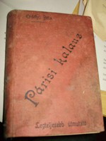 Erdélyi Béla: Párisi kalauz - Párizs útikönyv 1899 (világkiállíításra)