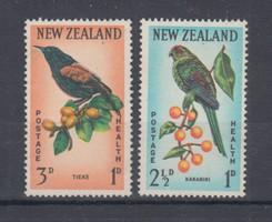 1962 Új-Zéland postatisztán (0005)