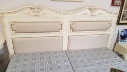 Restaurált antik ágy minőségi Provence technikával felújítva