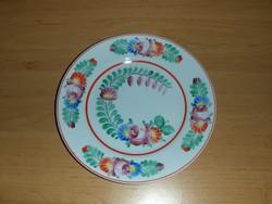 Hollóházi porcelán falitányér 18 cm (ap)