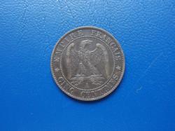 Francia 5 centimes 1857