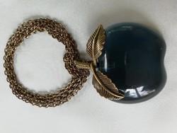 Kék alma 70 cm-s láncon