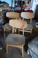 Retro iskola székek