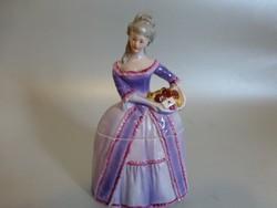 Fasold und Stauch Bock Wallendorf barokk ruhás lány,balerina,ékszertartó