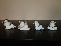 Bűbájos porcelán bohócok egy csomagban!