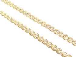Arany női nyakék (D25-Au81337)