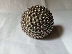 Izraeli kézműves ezüst gyűrű, hatalmas