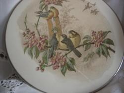 Sarreguemines madárkás fajansz edényalátét