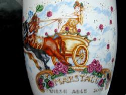 Marstall kaffe tasse, fesztivál emlékcsésze