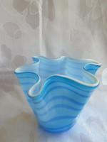 Különleges muranoi üvegváza