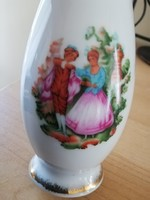 Jelenetes ibolya váza