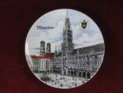Kleiber német Bavaria porcelán dísztányér. Manufaktur Kleiber Regnitz.