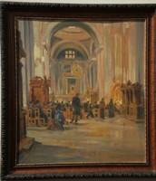 Bölcskey Ferenc (1897-1976) - Templomban