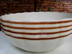 Antik pogácsás, pörköltes tál