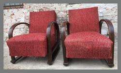 Különleges art deco fotel,3 opcióba állítható támlával