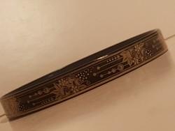 Frey Wille tűzzománc karkötő, 0,8  cm széles.