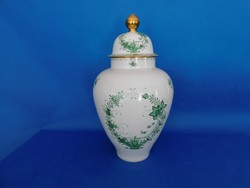 Herendi Indiai Óriás urna váza