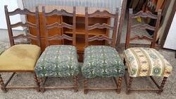 Neoreneszánsz szék eladó 4db. csak 8000ft.