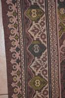 Hatalmas anyagában szövött mintás ágy terítő 01 ( 251 x 133 cm )