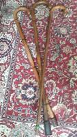 3 db bambusz sétabot, gyűjteményből