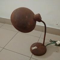 Régi ipari műhely asztali lámpa, loft design