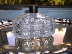 Olomkristály  illatszeres üveg-súlyos, masszív darab