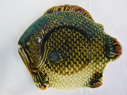 Gránit kerámia hal alakú tál