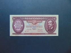 100 forint 1947 B 315 Kossuth címer Nagyon szép ropogós bankjegy !