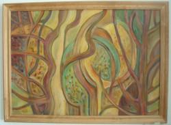 """Festmény """"Őszi erdő"""""""