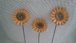 Kerámia napraforgó virágok 1.