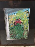 Ismeretlen festő: Akvarell, Virágok