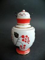 Szovjet porcelán szamovár váza dísz - EP