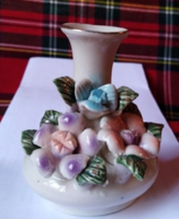Szép virágos mini váza (ibolya váza)
