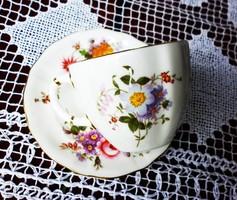 Angol tojáshéj porcelán teás csésze