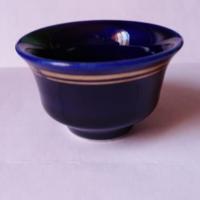 Kobaltkék porcelán pálinkás pohár