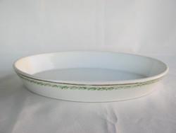 Zsolnay porcelán ovális tál