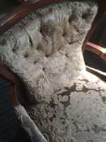 Régi felujitandó neobarokk fotel az ár egy darabra vonatkozik